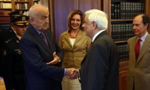 Παυλόπουλος: Ελλάδα και Λίβανος επωμίζονται το βάρος της προσφυγικής κρίσης