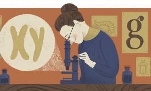 Nettie Stevens: H Google τιμά με Doodle τα 155α γενέθλια της βιολόγου