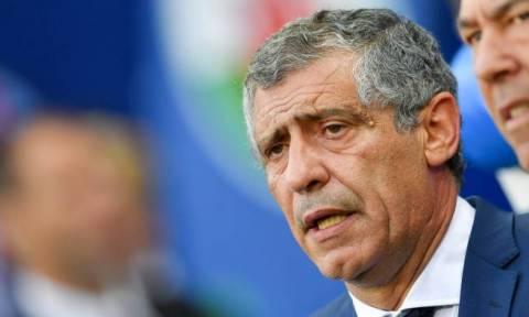 Euro 2016: Μυθικός Σάντος ευχαρίστησε την Ελλάδα
