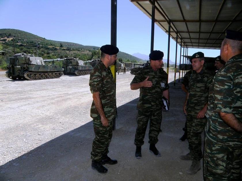 Ο Γενικός Επιθεωρητής Στρατού σε φυλάκια της 79 ΑΔΤΕ