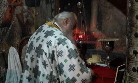 Αγρυπνία για την ανακομιδή των ιερών λειψάνων της Οσίας Σοφίας Κλεισούρας