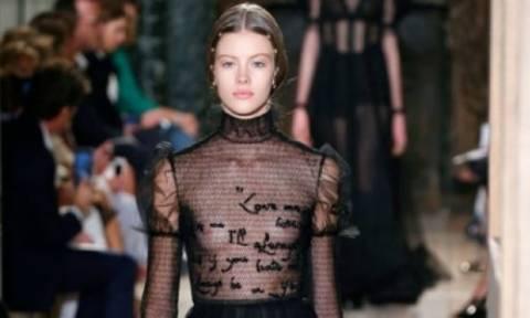 Υψηλή ραπτική: Αυτό το υπέροχο φόρεμα Valentino, χρειάστηκε 580 ώρες για να κατασκευαστεί!
