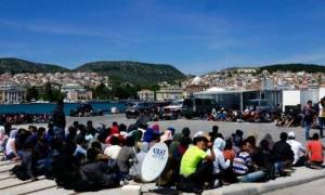 Νέα επεισόδια με μετανάστες στη Λέρο - Τεταμένη η κατάσταση στο νησί