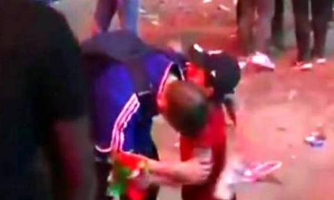 Συγκλονιστικό βίντεο - Euro 2016: Πιτσιρικάς Πορτογάλος, παρηγορεί Γάλλο οπαδό!