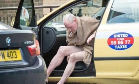 Η απόλυτη κατάρρευση ενός μύθου: Γυμνός και σε άθλια κατάσταση ο Γκασκόιν (photos)