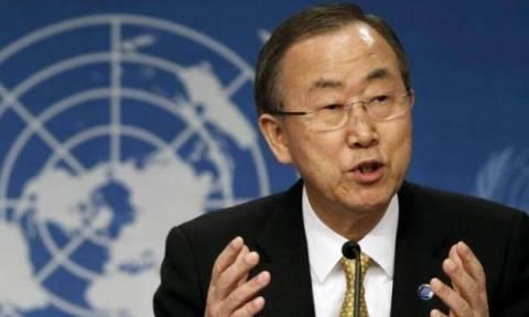 Εμπάργκο όπλων στο Νότιο Σουδάν ζήτησε ο Μπαν Κι Μουν