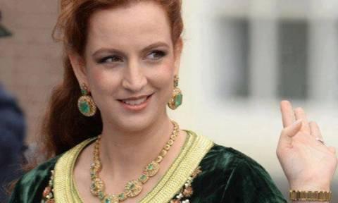 Принцесса Марокко проводит летний отпуск в Греции