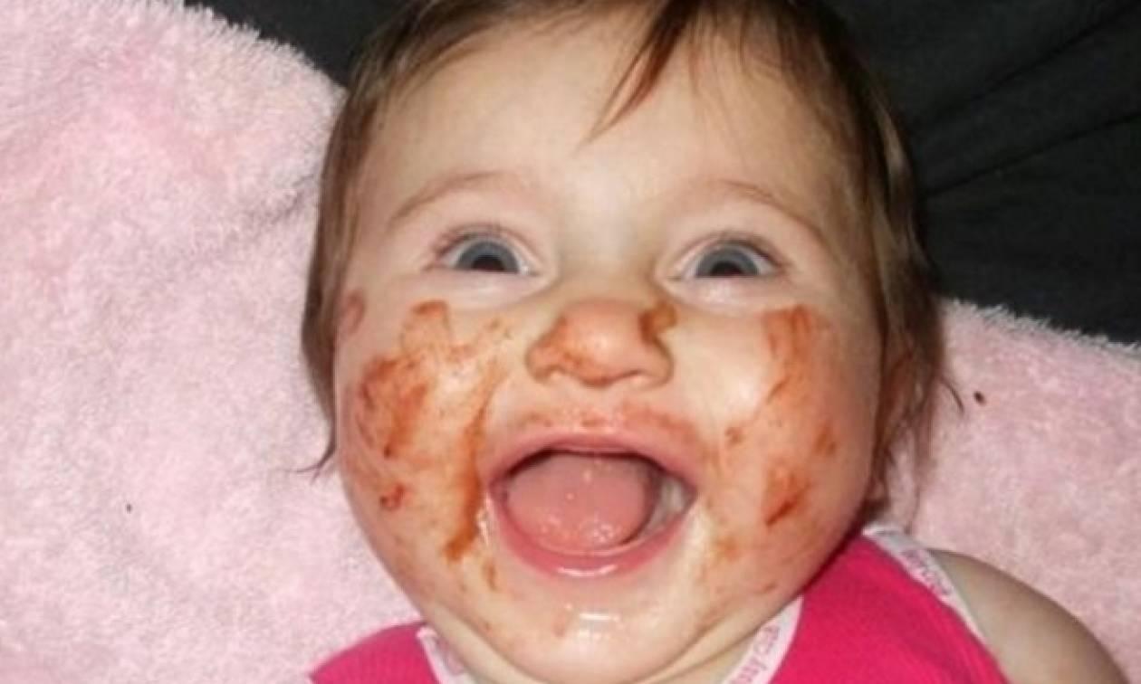 Αυτά τα μωρά σίγουρα απολαμβάνουν το φαγητό τους (φωτό)