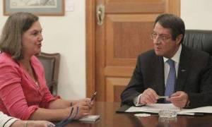 Νούλαντ για Κυπριακό: Ο μοναδικός μας ρόλος εδώ είναι να ακούσουμε τις δύο πλευρές