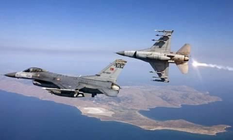 Διπλή τουρκική πρόκληση στο Αιγαίο πάνω από την Παναγιά