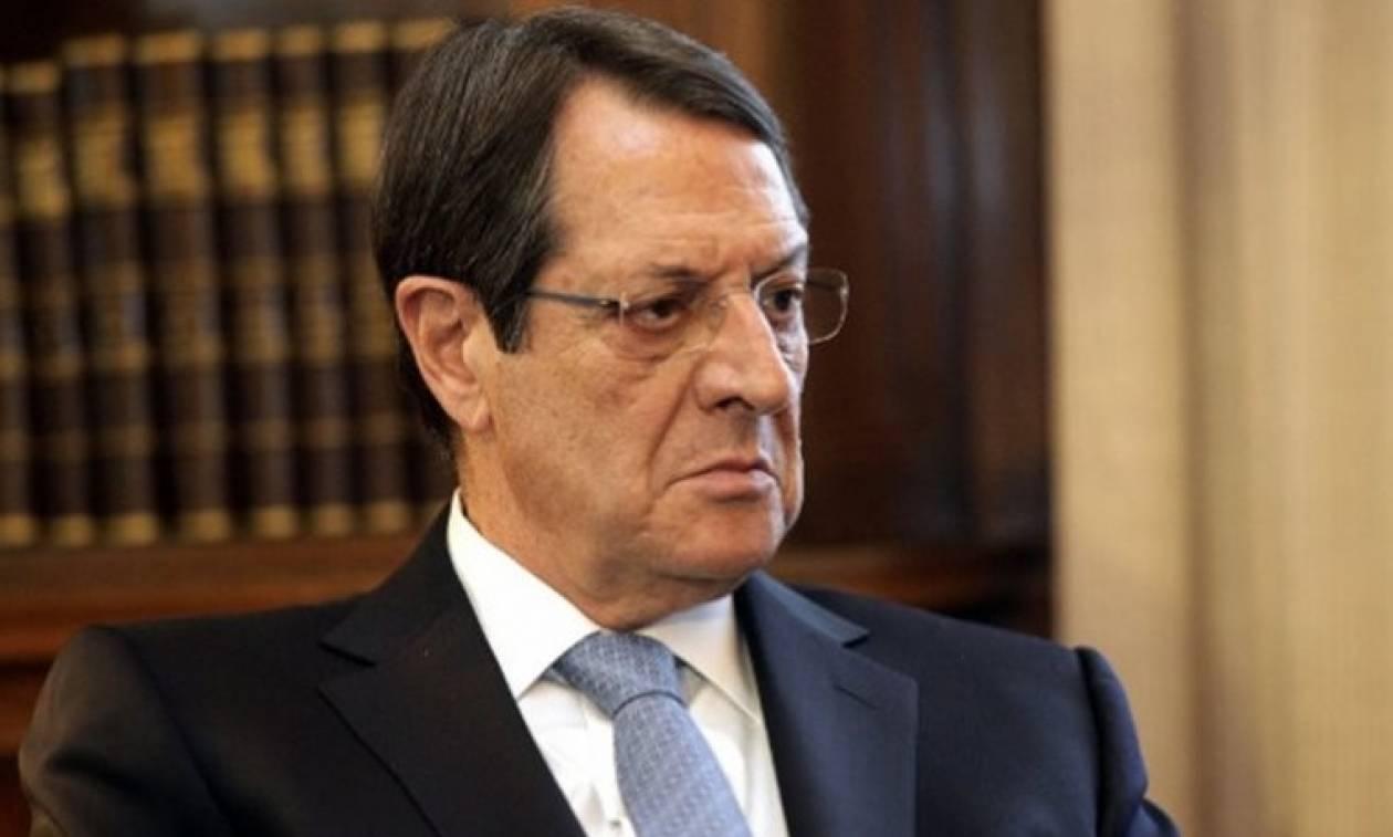 Κύπρος: «Oυσιαστικές διαφωνίες» στις διαπραγματεύσεις για το Κυπριακό εντοπίζει ο Ν. Αναστασιάδης