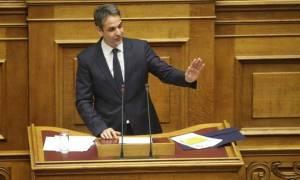 Μητσοτάκης: Αν περάσει ο εκλογικός νόμος, θα ακυρωθεί από την επόμενη Βουλή