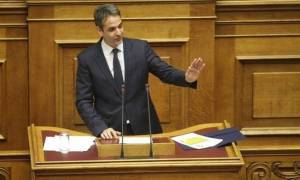 ND leader Mitsotakis calls on deputies to vote against new electoral law
