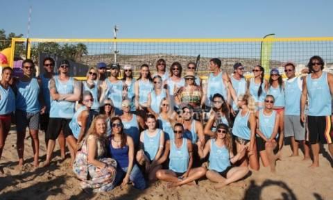 Οι Celebrities έπαιξαν Beach Volley για τη WIN Hellas και ήμασταν εκεί