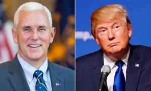 ΗΠΑ: Ο Τραμπ ανακοίνωσε τον αντιπρόεδρο που επέλεξε