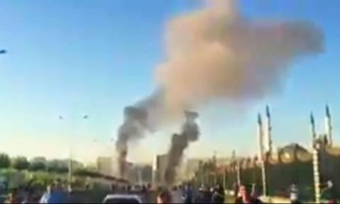 Πραξικόπημα Τουρκία: Αεροπλάνο έριξε βόμβα κοντά στο προεδρικό μέγαρο (Vid)