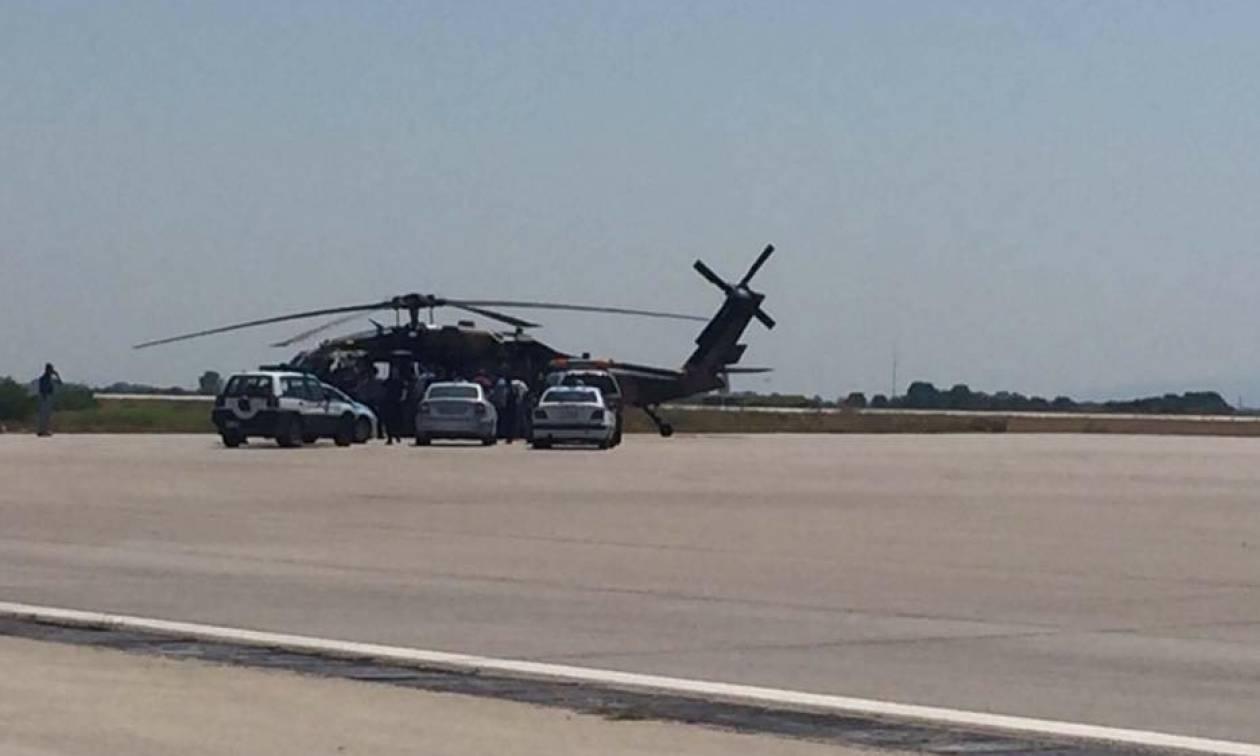 Πραξικόπημα Τουρκία: Τουρκικό στρατιωτικό ελικόπτερο προσγειώθηκε στην Αλεξανδρούπολη