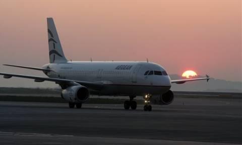 Ακυρώνονται οι βραδινές πτήσεις της Aegean από και προς Κωνσταντινούπολη