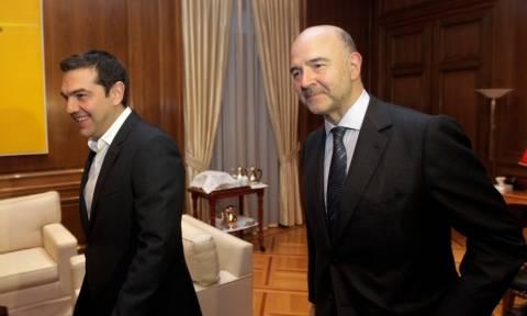 Στην Αθήνα αύριο ο Πιέρ Μοσκοβισί - Οι επαφές και η συνάντηση με τον Αλ. Τσίπρα
