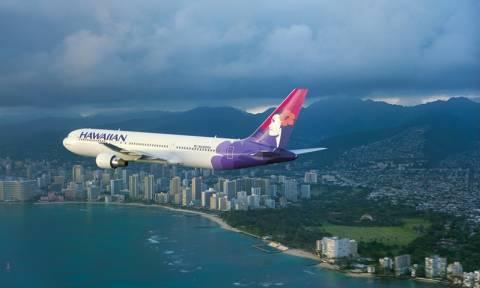 «Θρίλερ» στον αέρα με αεροσκάφος Airbus της Hawaiian Airlines