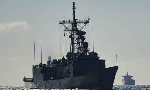 «Εξαφανίστηκαν» 14 πολεμικά πλοία της Τουρκίας