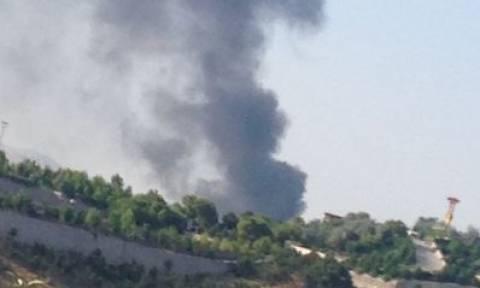 Συναγερμός στην Άγκυρα έπειτα από πυρκαγιά σε κτήριο (video+photos)