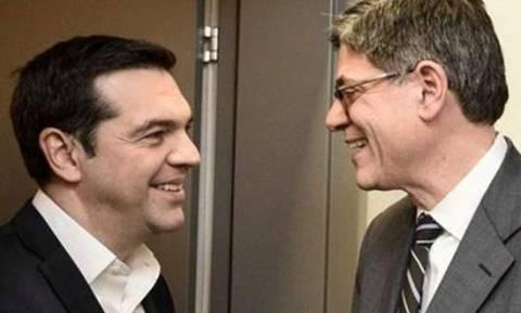 Министр финансов США Джейкоб Лью прибывает в Афины с официальным визитом