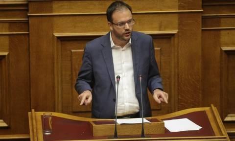 Θεοχαρόπουλος: Ψηφίζουμε εκλογικό νόμο, όχι για παραμονή της κυβέρνησης