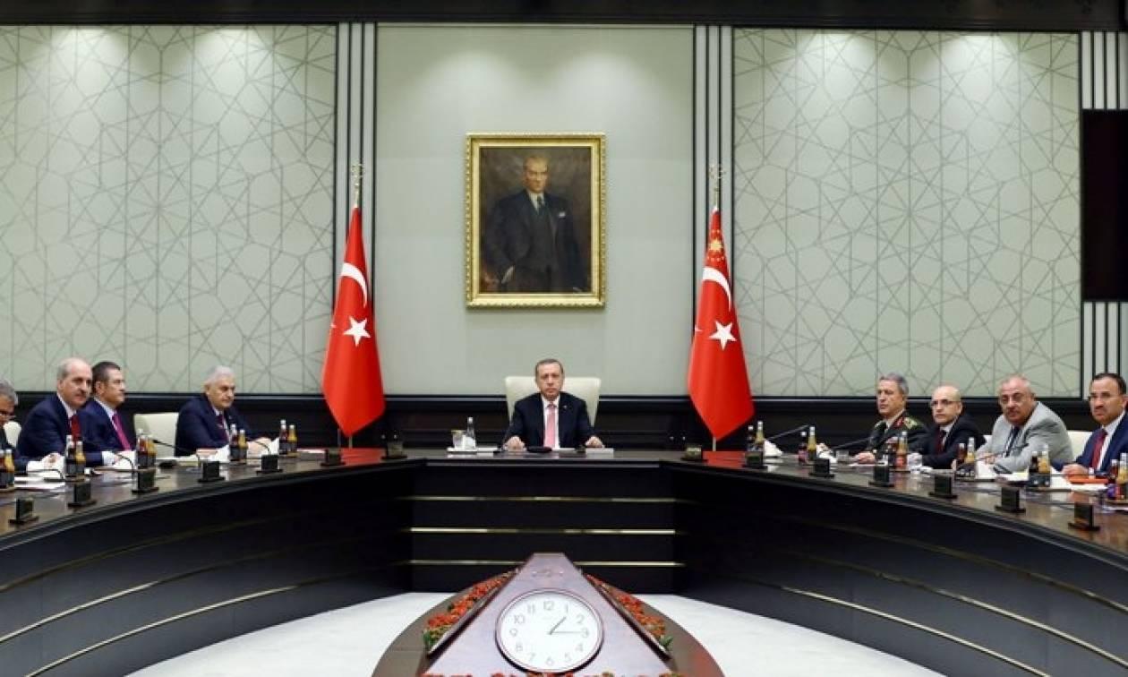 Τουρκία: Ολοκληρώθηκε το Συμβούλιο Εθνικής Ασφαλείας - Εν αναμονή ανακοινώσεων