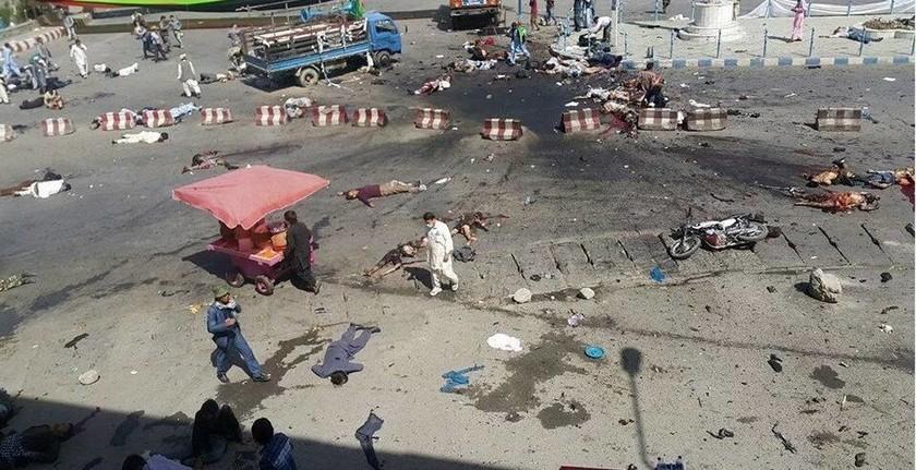 Ισχυρές εκρήξεις συγκλόνισαν την Καμπούλ κατά τη διάρκεια διαδήλωσης - 20  νεκροί και 170 τραυματίες