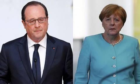 Ολάντ-Μέρκελ: Στενότερη συνεργασία εναντίον όσων επιδιώκουν κλίμα τρόμου
