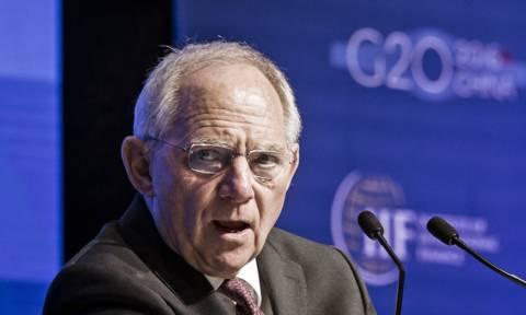 Ο Σόιμπλε υπέρ του φόρου χρηματοπιστωτικών συναλλαγών