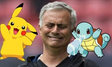 «Τα πήρε» ο Μουρίνιο με το Pokemon Go!