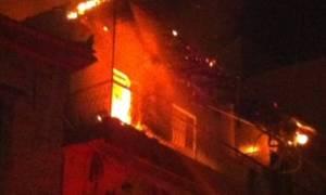 Υπο έλεγχο η φωτιά σε διαμέρισμα στο Γαλάτσι