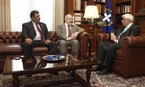 Συνάντηση Παυλόπουλου με τους Συλλόγους των Ελλήνων της Ίμβρου