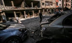 Μακελειό με τουλάχιστον 48 νεκρούς σε διπλή βομβιστική επίθεση του ISIS στη Συρία (video)