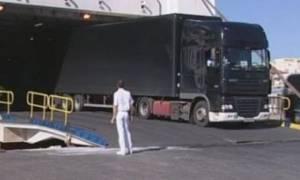 Κρήτη: Φορτηγό με επικίνδυνα τοξικά ταξίδεψε με πλοίο της γραμμής!