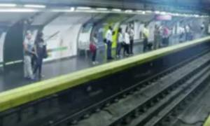 Τρόμος στο μετρό: Τα έχασαν οι επιβάτες όταν εμφανίστηκε τρένο - φάντασμα (video)