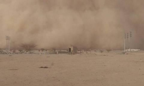 Απίστευτη φωτογραφία: Αμμοθύελλα καλύπτει το Κουβέιτ (pic)