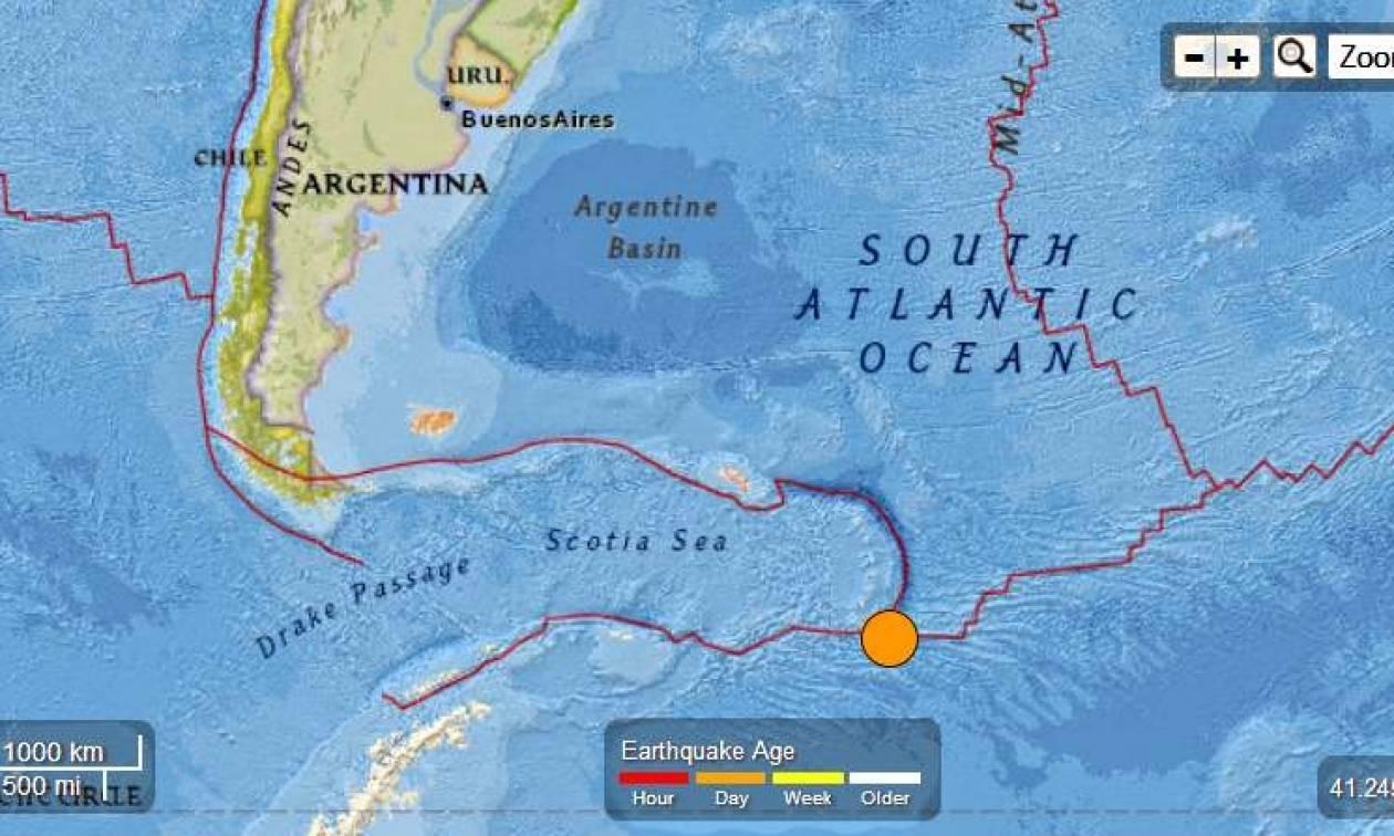 Σεισμός 5,8 Ρίχτερ στα νησιά Σάντουιτς