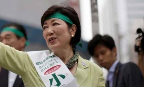 Η 64χρονη Γιουρίκο Κόικε εξελέγη κυβερνήτης του Τόκιο