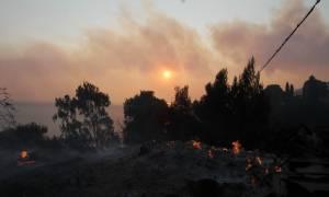 Φωτιά Εύβοια: Η πύρινη λαίλαπα σαρώνει τα πάντα για τρίτη μέρα και απειλεί τη Λίμνη Ευβοίας