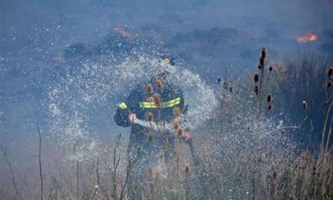 Ρέθυμνο: Υπό μερικό έλεγχο η φωτιά μετά από 34 ώρες μάχης με τις φλόγες