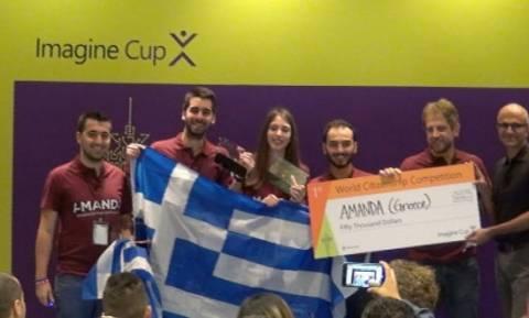 Διακρίθηκε στο Microsoft Imagine Cup η ελληνική «Amanda»