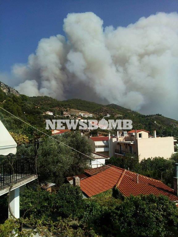 Φωτιά Εύβοια: Μάχη για τέταρτη μέρα με τις φλόγες - Αναζωπυρώσεις σε δύο σημεία στο όρος Καντήλι
