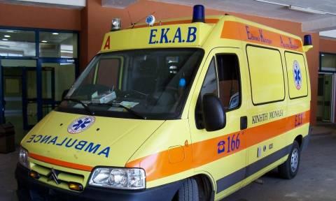 Ηράκλειο: Σοβαρό τροχαίο ατύχημα στον ΒΟΑΚ με δύο τραυματίες