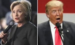 Εκλογές ΗΠΑ - Δημοσκόπηση: Η Κλίντον διευρύνει το προβάδισμά της από τον Τραμπ