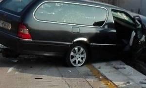 Μακάβριο: Σκοτώθηκε σήμερα το πρωί σε τροχαίο οδηγός νεκροφόρας