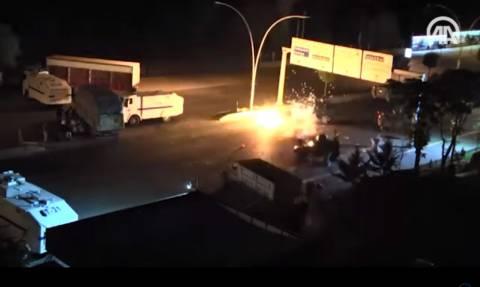 Σοκαριστικό ντοκουμέντο: Τουρκικά F-16 βομβαρδίζουν το αρχηγείο της Αστυνομίας στην Άγκυρα (vid)