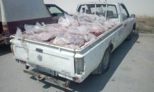 Έβρος: Συλλήψεις για ποσότητα αλλοιωμένου κρέατος